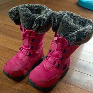 Kamik toddler snow boots